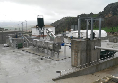 Estación Depuradora de Cañete La Real
