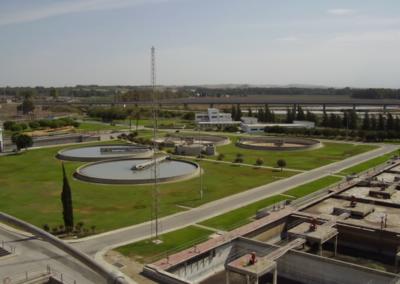 Adecuación de la Estación Depuradora de Aguas Residuales de Jerez de la Frontera