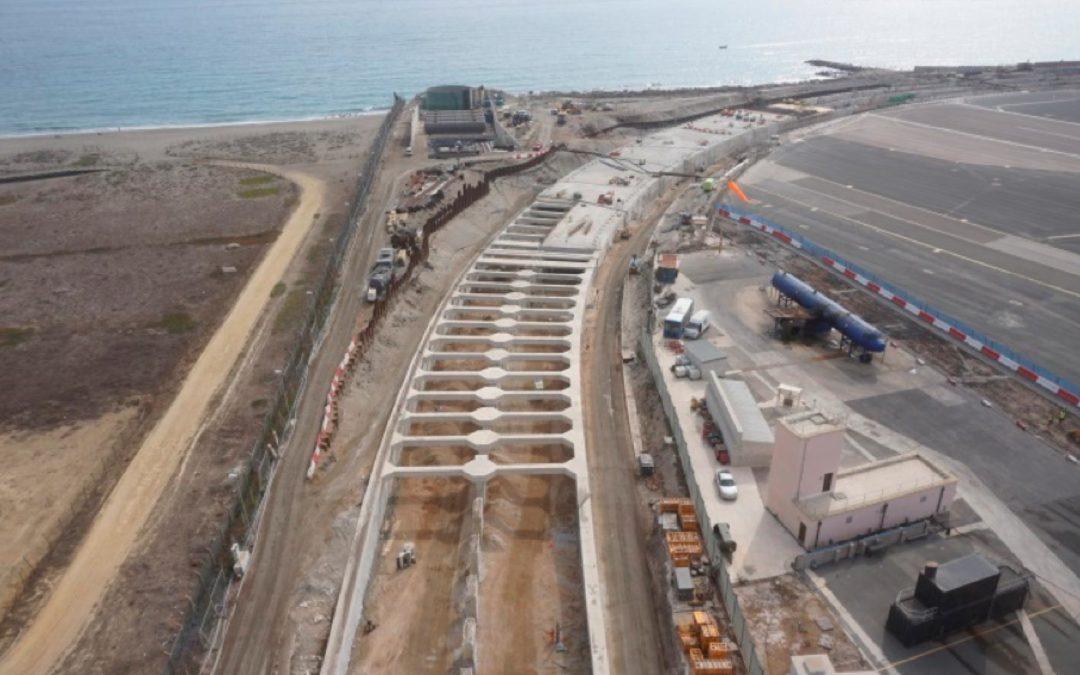 Diseño y Asistencia Técnica a las Instalaciones Mecánicas, Eléctricas y de Control en la construcción del Túnel bajo el Aeropuerto de Gibraltar