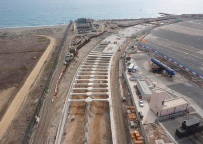 Design and Technical Assistance of Mechanical, Electrical and Control Facilities when building a tunnel under Gibraltar Airport.